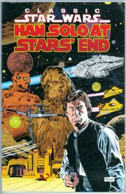 Star Wars Hans Solo At Stars' End #1 Dynamic Forces Signed Peter Mayhew of  COA Comic